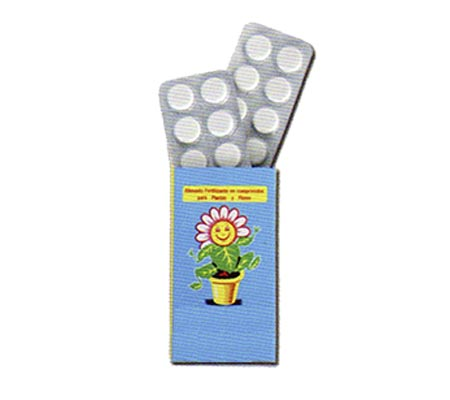 Fertilizante Vitaminado (20 comprimidos)
