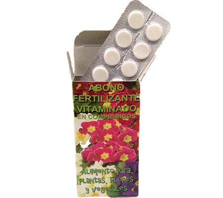 Fertilizante Vitaminado (50 comprimidos)
