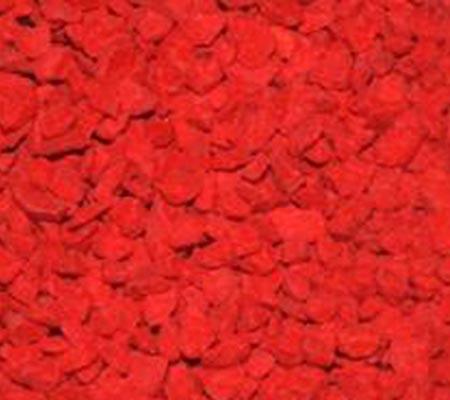 Triturado pigmentado en color